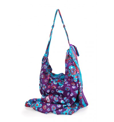 Bolso y pareo Purple Sun n Sea